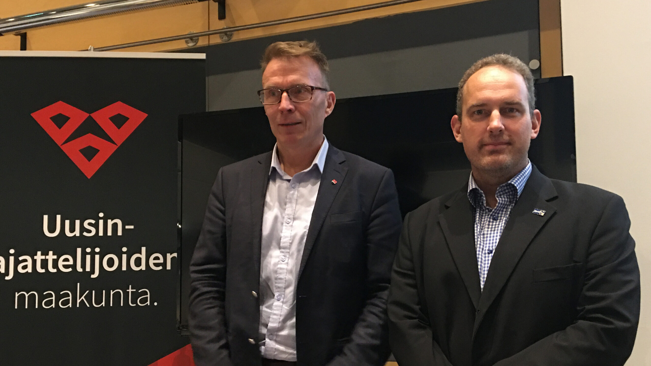Jukka Kopra ja Jani Mäkelä.